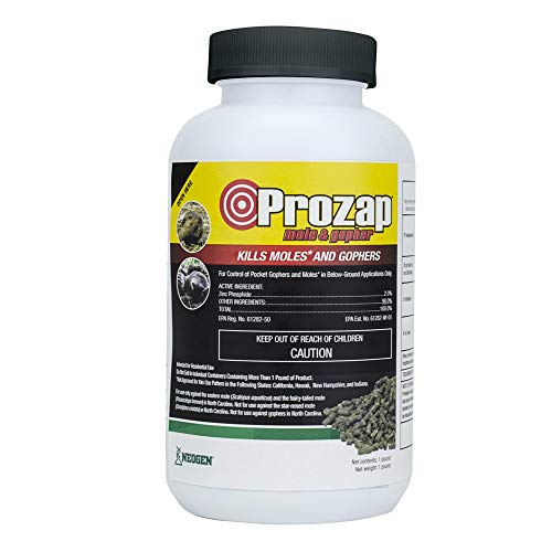 Prozap Mole and Gopher Pelleted Bait 1 pound