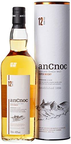 AnCnoc 12 Years Single Malt Whisky (1 x 0.7 l)