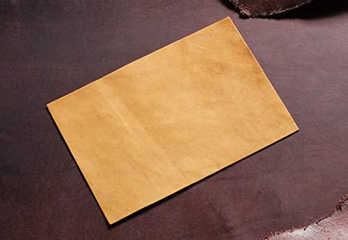 Förster-Fellnest Tolle Rindleder Zuschnitte, karamell, beige, Leder für Taschen, Beutel, Schuhe etc Used, Antikleder, Vintage, DIY