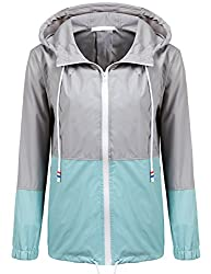 Ladies rain jacket for travelling Europe alone.