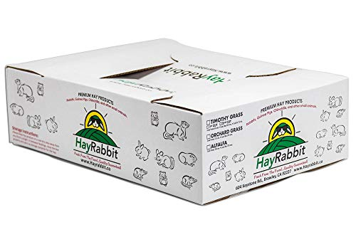 HAYRABBIT Premium Orchard Grass (Fresh from The Farm) 3lbs