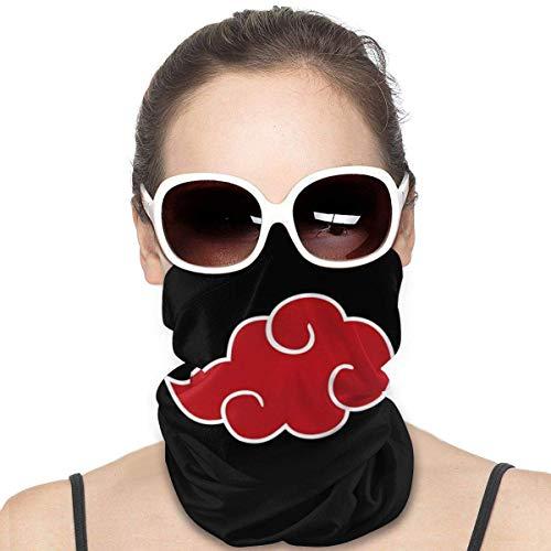 NA Japan Anime Naruto Sports Riding Mask Headwear Face Scarf Cover Unisex Outdoor Headband Turban Neck Windproof Case Sun Protection Seamless Bandana 50 X 25 cm