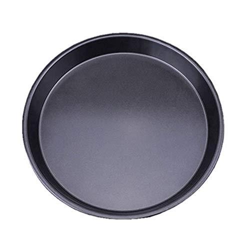 1Pcs Küchenzubehör Nicht -Stick Carbon Steel Thicken Rund Pizza Pannen Backplatten Scheibe Backgeschirr Tray Parkett Backpan Mould,6 Zoll