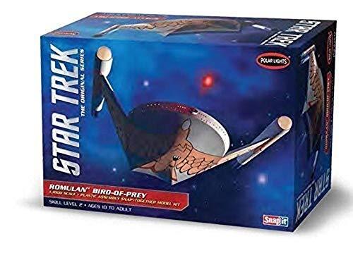 Round2 POL934/12 1/1000 Star Trek Romulan Bird of Prey plastic modelbouwset, modelspoorbaanaccessoires, hobby, modelbouw, meerkleurig