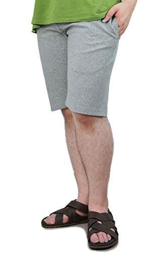 [チャンピオン] スウェットハーフパンツ 9.4oz 定番 ポケット付き ワンポイントロゴ リバースウィーブ ショーツ C3-D526 メンズ オックスフォードグレー M