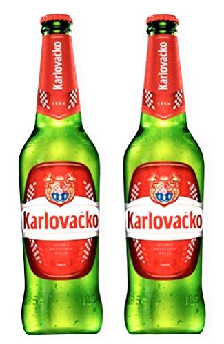 24 Flaschen Karlovacko Pivo aus Kroatien Bier