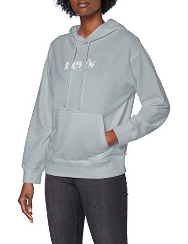 Levi's Graphic Standard Sudadera, Hoodie New Logo II Pearl Grey, XXS para Mujer