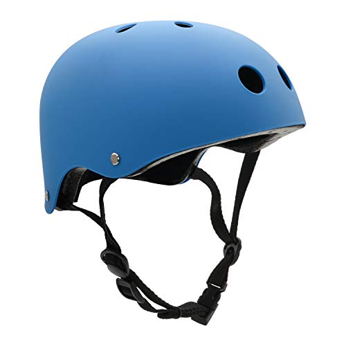 Review FerDIM Skateboard Helmet Kids Youth Adult, Bike Helmet CPSC Certified for Skate Scooter Rolle...