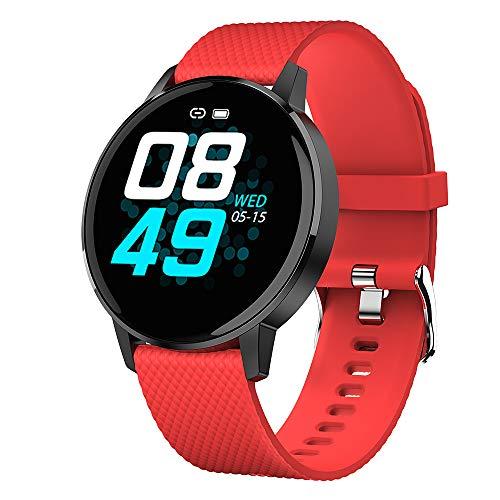 Andoer Pulseira esportiva ultrafina inteligente IP67 à prova d'água rastreador de fitness monitor de pressão arterial de frequência cardíaca pulseira masculina feminina relógio digital inteligente