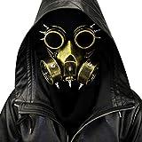 Yissma Masque à gaz 3D pour Halloween Tête de Mort Airsoft Masque de Protection...