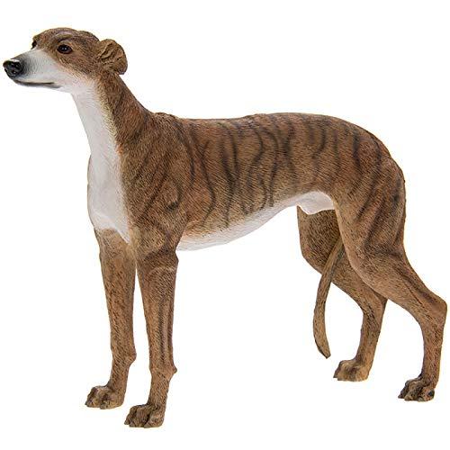 The Leonardo Collection Greyhound, Resin, Brindle, H13CM