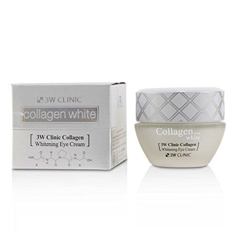 3W Clinic - Collagen Eye Cream - Crème anti-rides contre les yeux cernés et effet éclaircissant