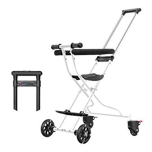 Triciclos- Bebés con Empuñadura Plegable, Ruedas para Niños Trike 4, Niños De...