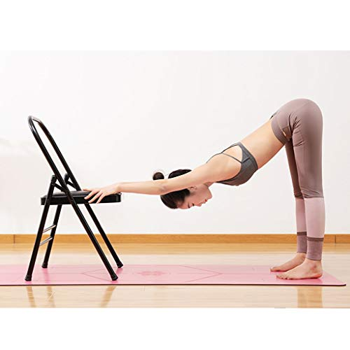 Great Price! VAIY Yoga Meditation Chair Yoga Chair Auxiliary Tool Steel Pipe Padded Foldable