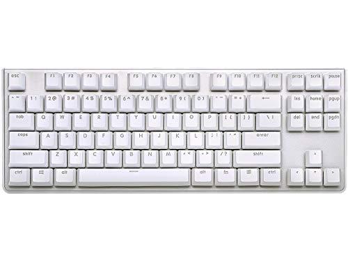 G.SKILL KM360 Professionelle Tenkeyless Mechanische Tastatur Cherry MX Rot ABS Dual Injection Keycap (weiß)