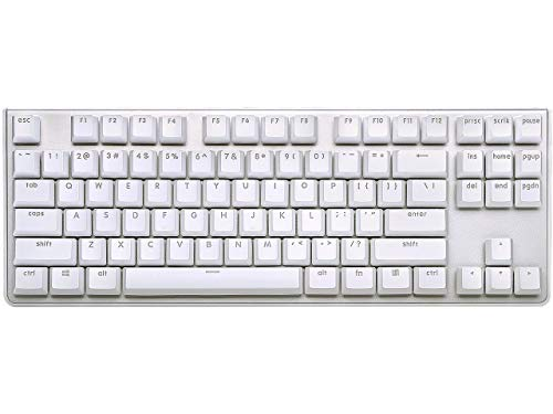 G.SKILL KM360 Professionelle Tenkeyless Mechanische Tastatur Cherry MX Rot ABS Dual Injection Keycap (weiß)