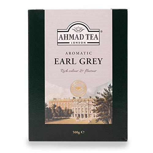 Ahmad Tea Earl Grey Schwarzer Tee, lose, 500 g