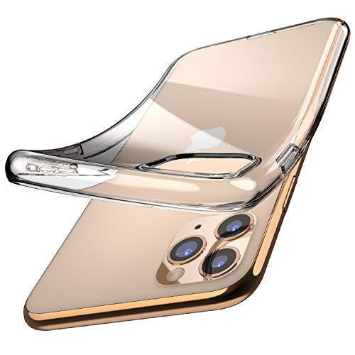 TOZO for iPhone 11 Pro Max case 6.5 Inch (2019) Premium Clear Soft TPU Gel Transparent Flexible Cover for iPhone 11 Pro Max with [Clear]