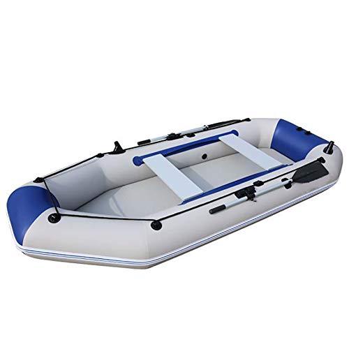 DMBHW Profesión Rafting al Aire Libre Pescar Barca Hinchable 3.0M Bote Salvavidas Espesar Material de PVC con Una Gama Completa de Accesorios
