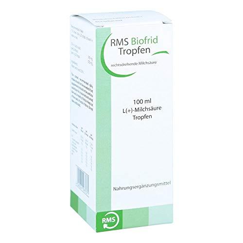 RMS Biofrid Milchsäure rechtsdrehend Tropfe 100 ml