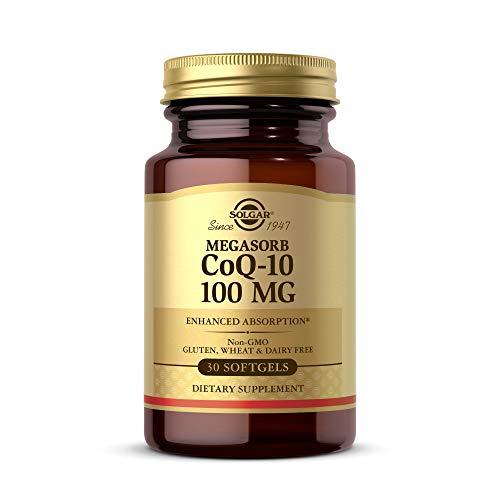 Solgar CoQ-10 (Coenzyme Q-10) 100 mg Softgels - Pack of 30