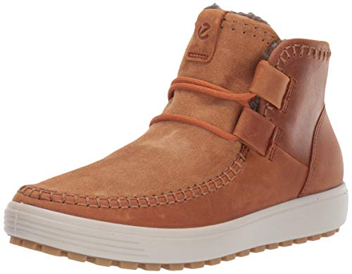 Ecco Damen Soft 7 TRED W Hohe Sneaker, Braun (Amber/Amber 57624), 39 EU