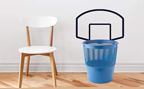Kleine 45,7 x 33 cm Basketball-Rückwand, grafische Wanddekoration für Wohnzimmer, Schlafzimmer, ohne Korb