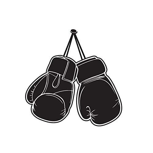 Boxhandschuhe Fighting Sports Wandaufkleber Kaufen Sie abnehmbare Kunst Home Wohnzimmer Jungen Schlafzimmer Wanddekoration Aufkleber Geschenk 42x41cm