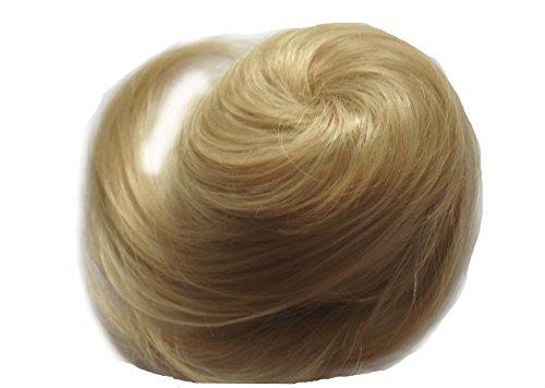 JM-Supply Fashion Coiffure Cheveux Chignon Hepburn Chignon de cheveux en gomme isuren div. Couleurs ZY2 - - mittelblond20#(15#),