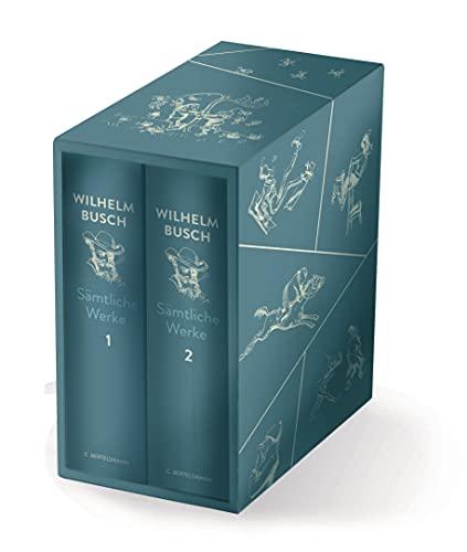 Sämtliche Werke: 2 Bände im Schuber - Der große Busch / Hochwertig gestaltete Geschenkausgabe
