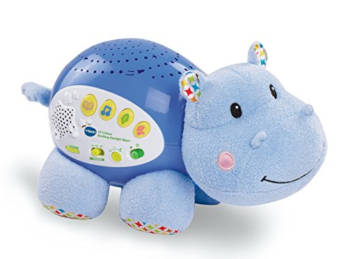 VTech Voice-Activated Hippo Night Light Projector
