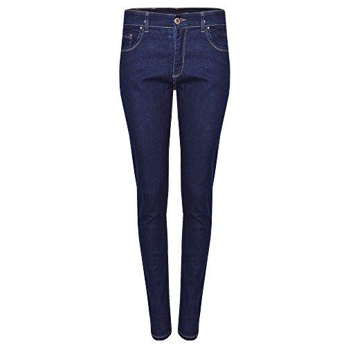 Damen Ex-Zara Slim Fit Skinny Jeggings Jeans Stretch Denim EU Größe 36-46