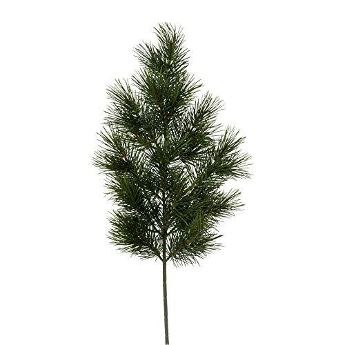 creativ home Künstlicher TANNENZWEIG BUSCHIG Zweig Tanne mit 34 Spitzen. Ca 66 cm. 3019713-50