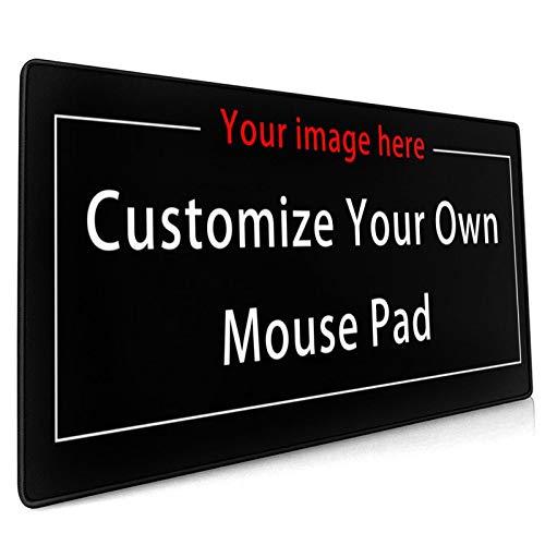 Naisde Gaming Mouse Pad, Personalisiertes Großes Mauspad(900x400x3mm ) Große Schreibtischunterlage,Mauspad XXL,rutschfeste Gummibasis Glatte Oberflächen Wasserdichtes Mauspad (Anpassung)