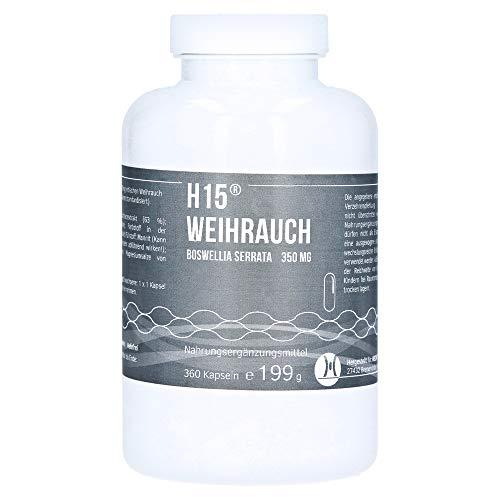 H 15 Weihrauchkapseln 350 mg 360 St Kapseln