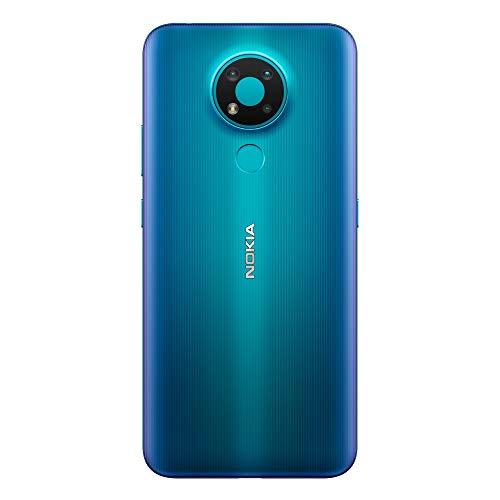 NOKIA 3.4 Bleu Smartphone Débloqué 4G+ - (Ecran : 6,39 Pouces – 3 Go RAM – 64 Go ROM - Double Nano SIM - Android) [Version Française]