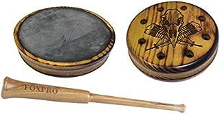 FOXPRO Osage Slate Hickory Osage Slate Pot Turkey Call with Hickory Striker