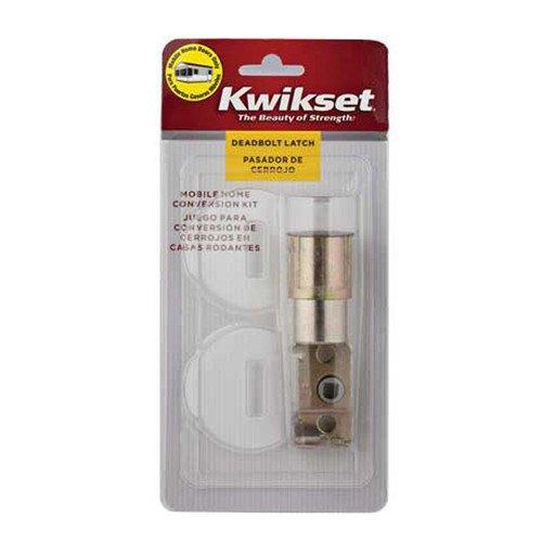Kwikset Kit de conversão de fechadura externa para casa móvel 12077 CP DB RFL CNV