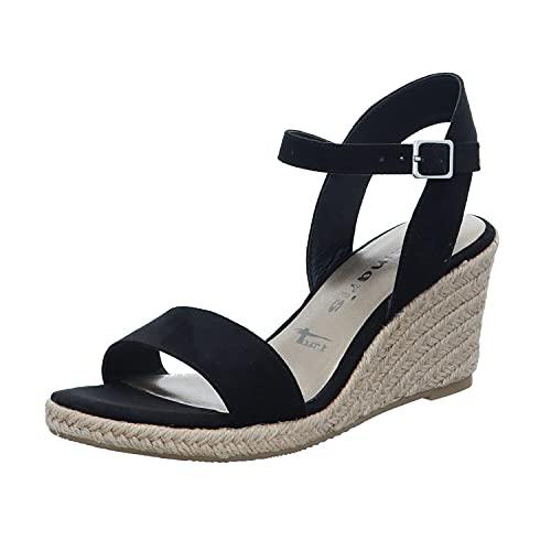 Tamaris Damen Sandalette schwarz 1-1-28300-26 001