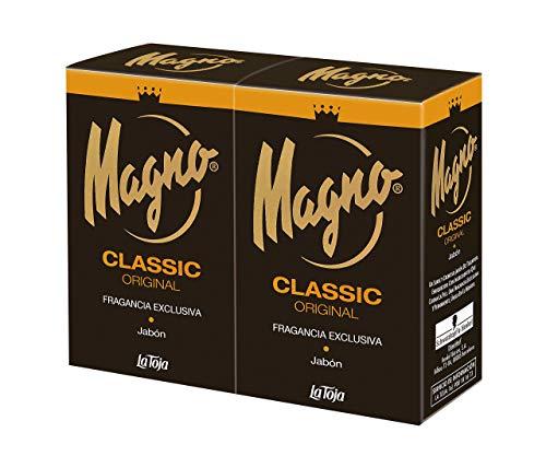 Magno - Savon à Main au Parfum unique au Monde - 3 Paquets de 2 Comprimés de 125gr