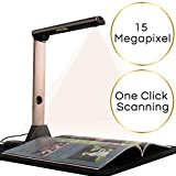 iCODIS X7 Book & Document Scanner, 15MP High Definition Portable Document Camera,...