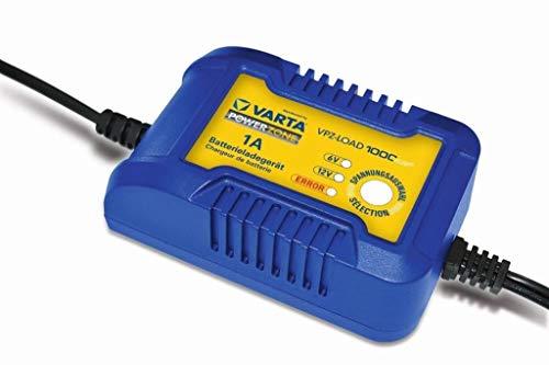 Varta VPZ 1000 Plus acculader 12 V 1 A, 6 V 1 A, 7 niveaus laadstation