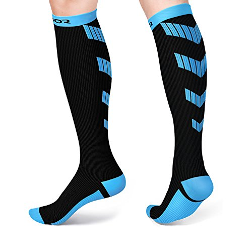 Compression Socks for Men and Women, Fit for Running, Travel