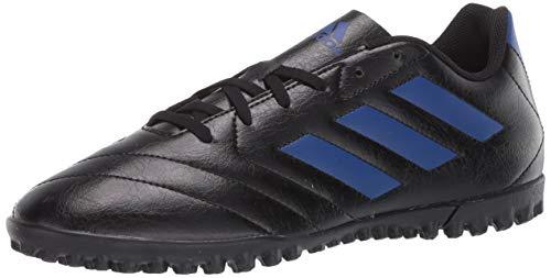 adidas Men's Goletto VII TF Sneaker, core Black/Team Royal Blue/Team Royal Blue, 7.5 M US