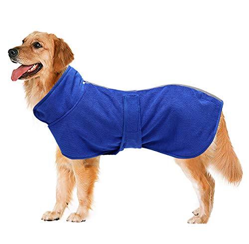 Geyecete Hunde-Bademantel, weich, super saugfähig, luxuriös, 100 % Mikrofaser, zum...