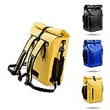 LOVEVOOK 3 in 1 Fahrradtasche Rucksack für Gepäckträger 26L, 100% Wasserdicht Reflektierend...