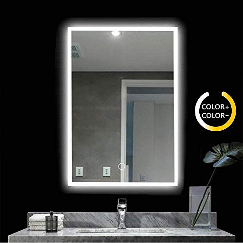 Peralng LED Bathroom Mirror Wall Mounted Light,28