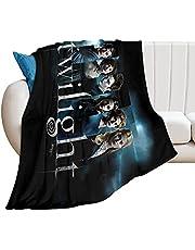 Tvillingljus filmer filt mjuk flanell sängfilt lätt anti-noppor luddig filt vardagsrum sovrum soffa gåva 127 x 102 cm