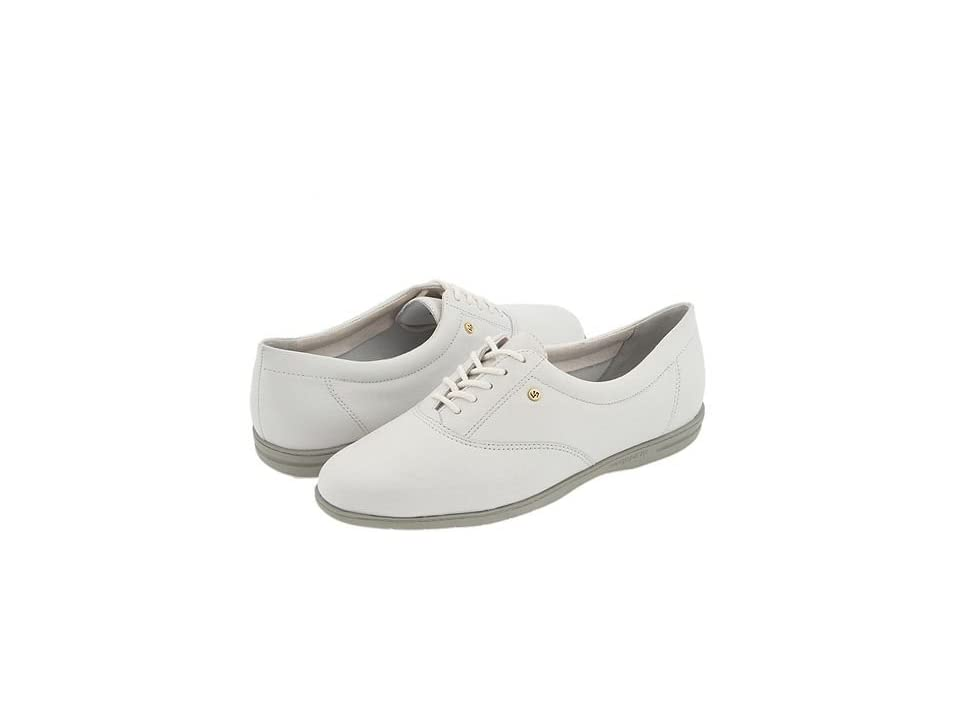 Easy Spirit Motion (White Leather) Women