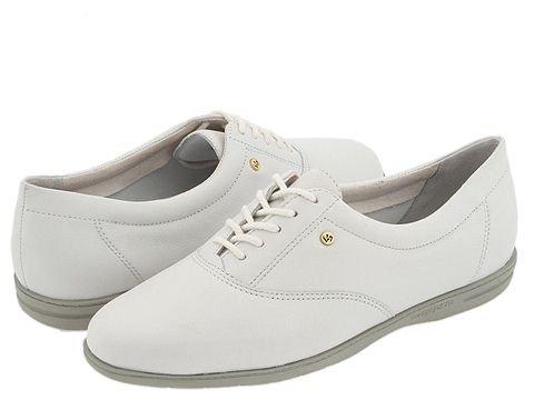 Easy Spirit  Motion (White Leather) Womens Lace up casual Shoes